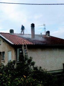 Rénovation toiture Brens